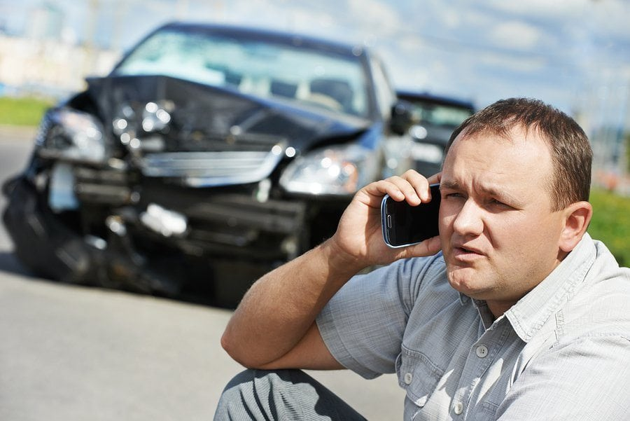 bigstock Adult upset driver man discuss 50445194 1 - Steps to Take After an Auto Accident