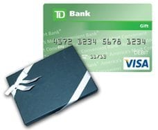 TD Visa Gift Card - First drawing for our New Referral Program is coming up!
